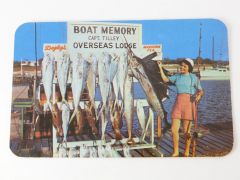 Postcard Fishing Marathon Florida, Keys EXCELLENT Graphics