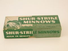 SOLD!!! Nice Rare Green Shur Strike Lure Box ONLY