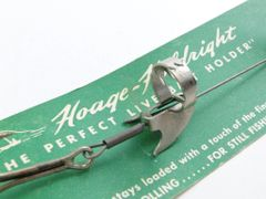 Hoage Holdright LIVE BAIT Hook Harness New on Card