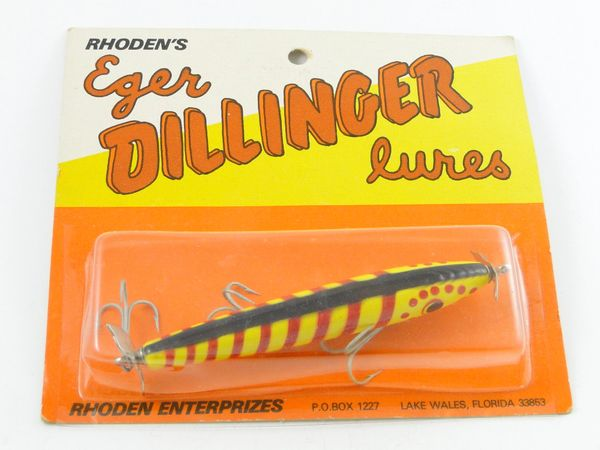 Eger Dillinger Floater 302 F WILD COLOR! Red/Yellow/Black