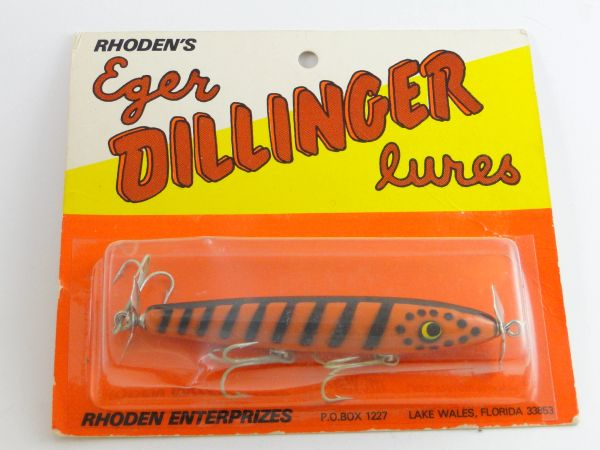 Eger Dillinger Floater 304 WILD COLOR! Orange/Black