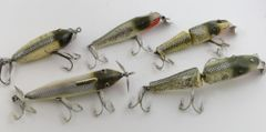 SOLD!!! GROUP of Creek Chub Silver Flash Lures