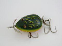 SOLD!!! Pflueger KENT Frog Fishing Lure Weedless Hooks & Bulldog Logo