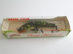 Creek Chub Jointed Darter FROG NEW! in Box + Papers