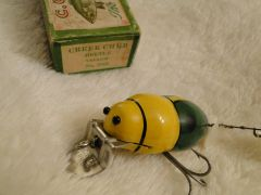 SOLD!!! Creek Chub 3850 Beetle NEW in the Correctly Labeled Box