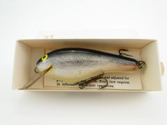 SOLD!!! AC Shiner Balsa Wood Lure Unused Excellent in the Box + Paper Insert BASS Size Bait