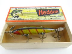 SOLD!!! Heddon 150 L 5 Hook Underwater Wood Lure New in Correct Box