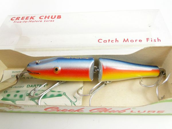 Creek Chub 2608 Deep Dive Jointed Pikie VG+ IN BOX & Papers