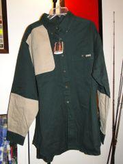 Woolrich Men's Fieldwear Long Sleeve XL Tall NEW! with TAGS HunterGreen/Khaki