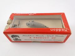 Heddon Dowagiac No. 720 Fly Rod Flaptail Grey Mouse UNUSED IN BOX