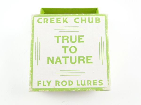 Creek Chub True To Nature Fly Rod Box