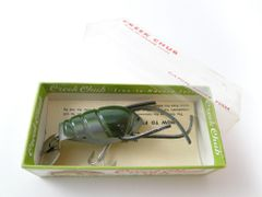 Creek Chub Cray Z Fish New Old Stock in Box 9900 SS Silver Shad