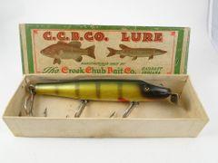 Creek Chub Husky Pikie 2301 Perch NEW IN BOX Early Style