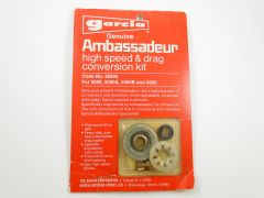 Garcia Ambassadeur High Speed Conversion Kit for 5000 5000A 5000B, and 6000 model Fishing Reels