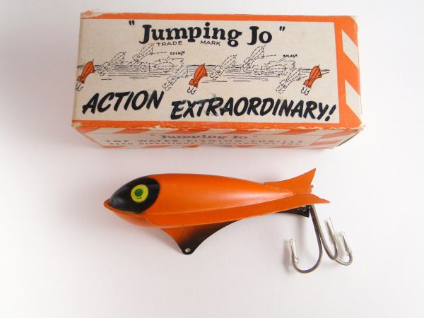 SOLD!!! Jumping Jo Fishing Lure NEW OLD STOCK IN BOX Dayton Ohio