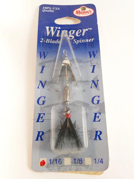 Mann's Bait Company 1/16 OZ. WINGER 2 Blade Spinner NIP