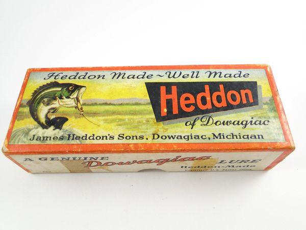 Heddon Zaragossa 6500 Series PRH Red Head Shiner Scale Box Only