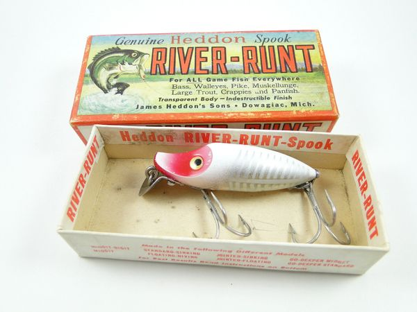 Heddon River Runt Spook 9110 XRW NEW IN BOX