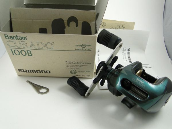 Shimano Curado 100 B Fishing Reel EX IN THE BOX WITH PAPERS
