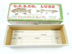 Creek Chub 400 Series Baby Crawdad Box CLEAN!