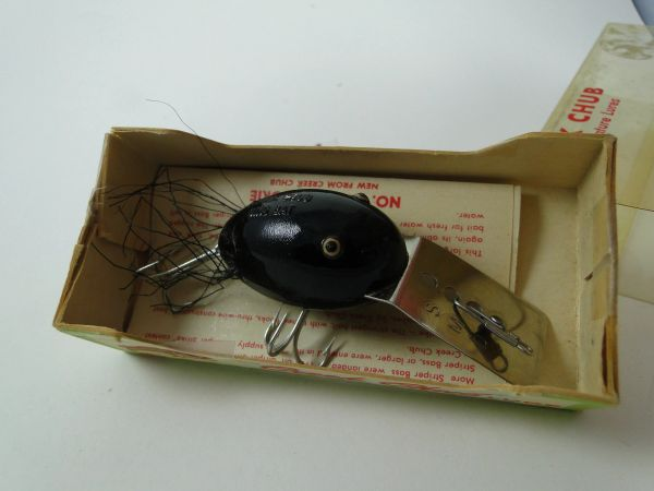 Creek Chub 5113 Plastic Dingbat In Box with papers