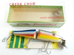 Creek Chub 2608 Jointed Rainbow Pikie New in Box