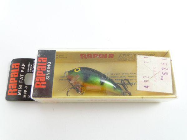 Rapala Mini Fat Rap Perch NEW IN BOX