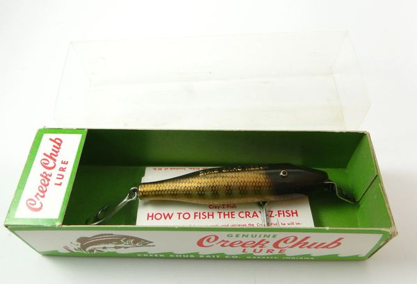 Creek Chub 900 P Baby Pikie New in Box with paper