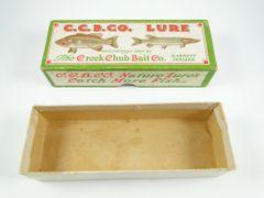 Creek Chub UNMARKED BOX