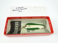 Genuine Dardevle Spoon EX IN BOX + PAPERS