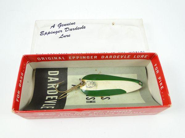 Genuine Dardevle Spoon EX IN BOX + PAPERS
