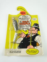 Arbogast Hula Hoople NEW IN RARE PACKAGE 420 KD CoachDog Pattern