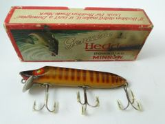 Heddon 7509R Natural Scale Vamp EX- in Correct Box