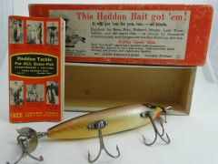 Heddon 179 SOS Shiner Scale UNUSED NEW in Correct Box