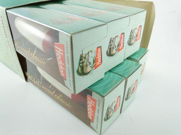 Heddon Dealer 6 Pack of 8500 RH Wood Bassers