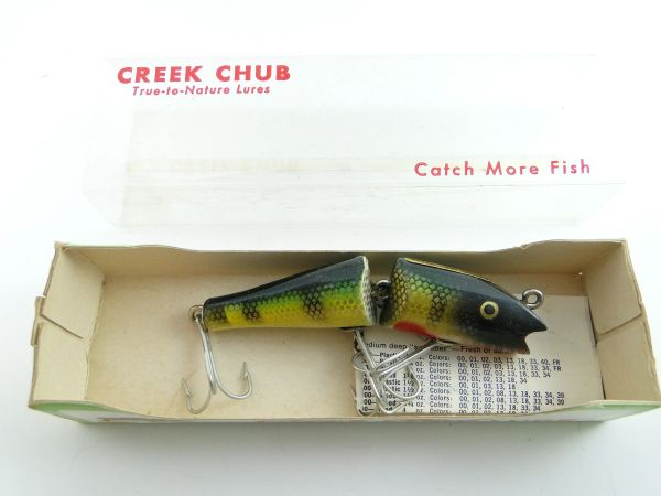 Creek Chub Jointed Darter 4901 NEW IN BOX with Papers