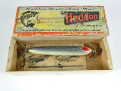 Heddon Torpedo Model 130 in GCB Green Crackleback Finish