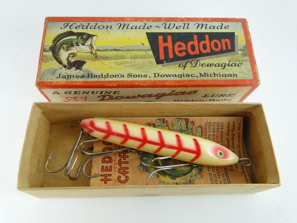 Heddon Saltwater model 30 XWR Wood Torpedo Fishing Lure NEW IN BOX