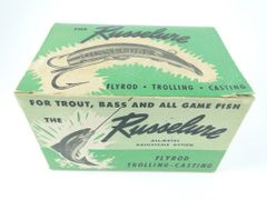 Russelure Fishing Lure Jackets GREEN Dealer 6 pack box NEW OLD STOCK