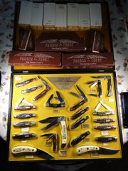 Parker Frost Cutlery Set of Pocket & Hunting Knives from 1978 RARE!