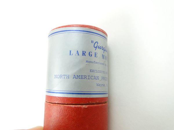 "Van Hee Brothers ""Gurgling Joe"" Wayne Michigan Made North American Products Inc. NEW IN LABELED TUBE Fishing Lure"