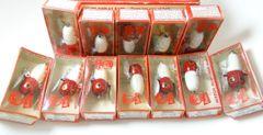 Heddon 320 XRW Tiny Crazy Crawler Dealer Dozen Display Box & Lures NEW OLD STOCK!!!