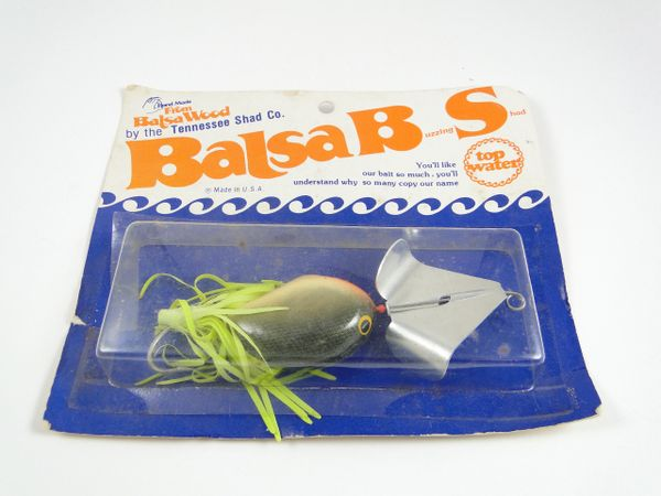 Balsa B S TENNESSEE SHAD Bait Co. Obscure Lure!