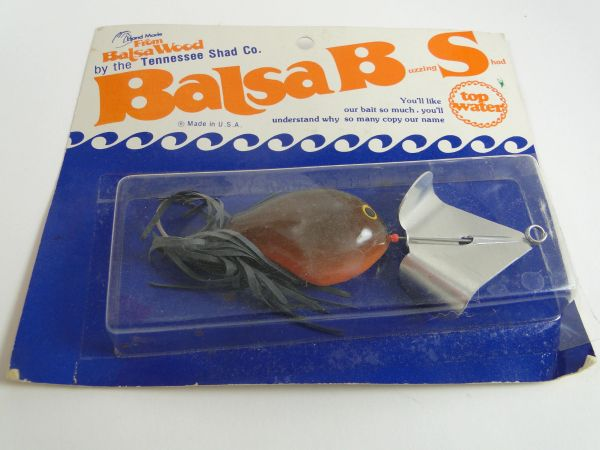 Balsa B S TENNESSEE SHAD Bait Co. Obscure Fishing Lure!