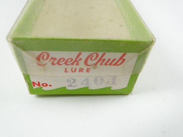 Creek Chub 2401 Wigglefish In Perch Box Only