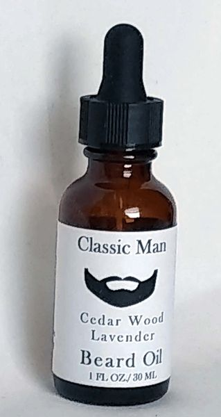 Beard Oil - Cedar Wood & Lavender