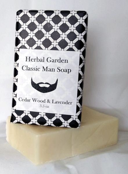 Cedar Wood & Lavender Soap