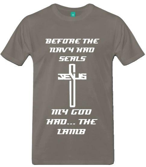 Lamb of God Military Shirt