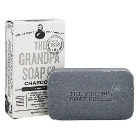 Grandpas Soap Bar Charcoal, 4.25 oz