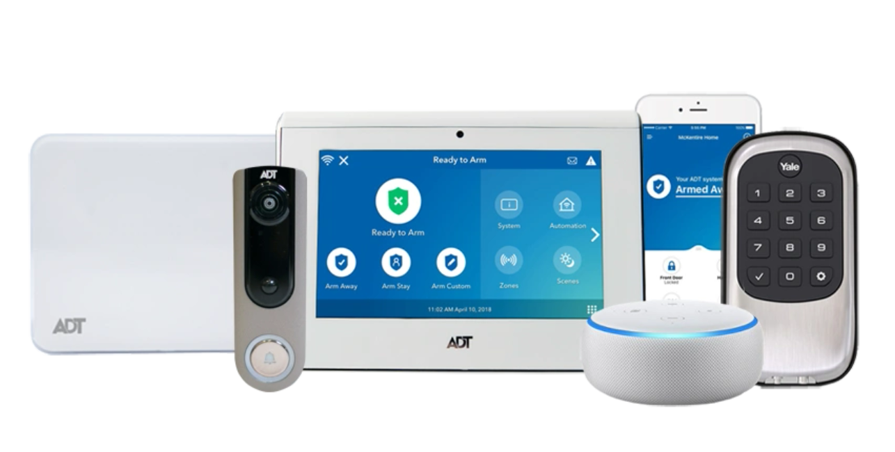 ADT Command Home and Business Smart Security System with Home Automation and Security Cameras